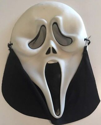 SCARY MOVIE Easter Unlimited Scream Halloween Ghost Face Spoof Mask VTG Scream