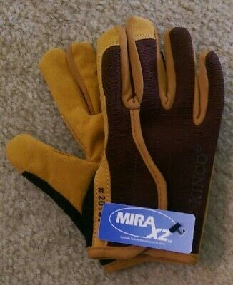 Kinco 2014 Youth Synthetic Work Driver Gloves Brown Ranch Farm Garden Hunting
