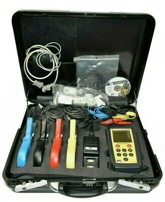 Ideal 61-806 Power Analyzer Kit W 1000 Amp Phase Clamps 100 Amp Neutral Clamp