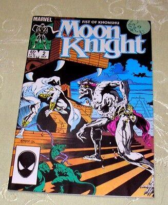 MOON KNIGHT: FIST OF KHONSHU Comic #2, JUL 1985 (VF - NM) Marvel