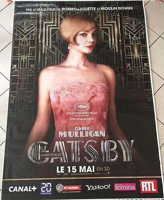 Carey Mulligan The Great Gatsby 4 x 6 feet Bus Shelter Poster