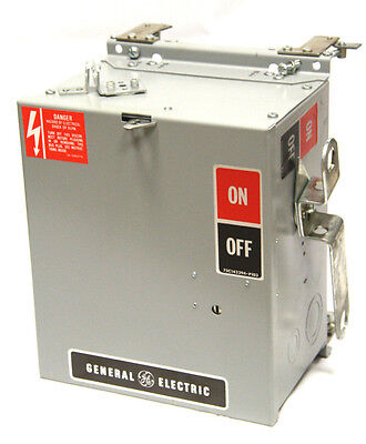 General Electric GE AC421RG Fusible Bus Plug Unit 30A 240V 3Ph 4W Armor Clad NEW