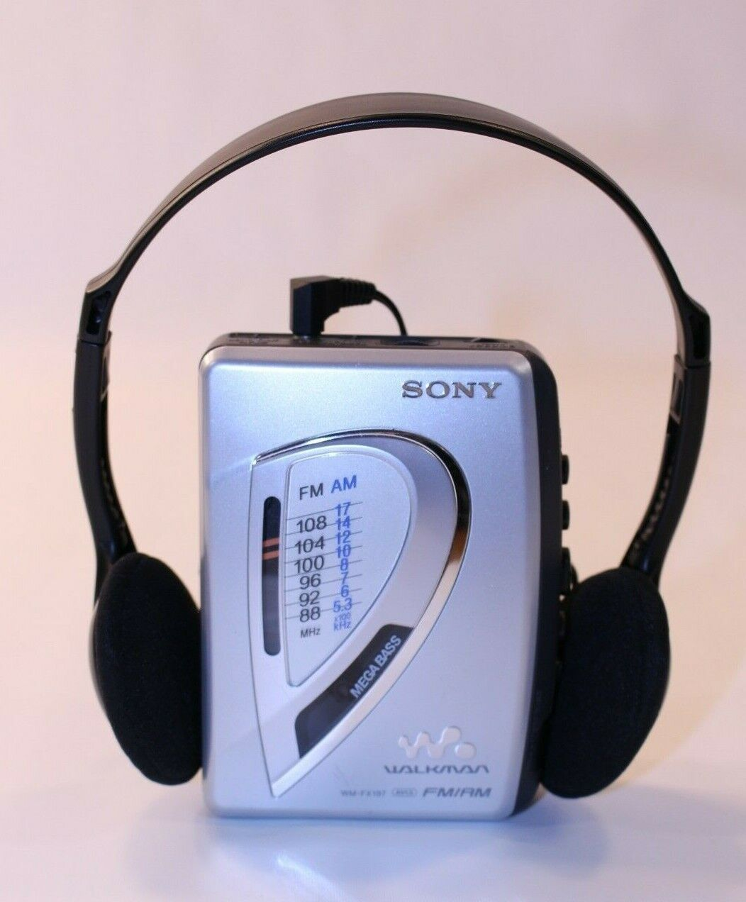 VTG Sony WMFX197 Walkman AMFM Radio Cassette Portable Working Tape Player GUC at Kapruka Online for specialGifts