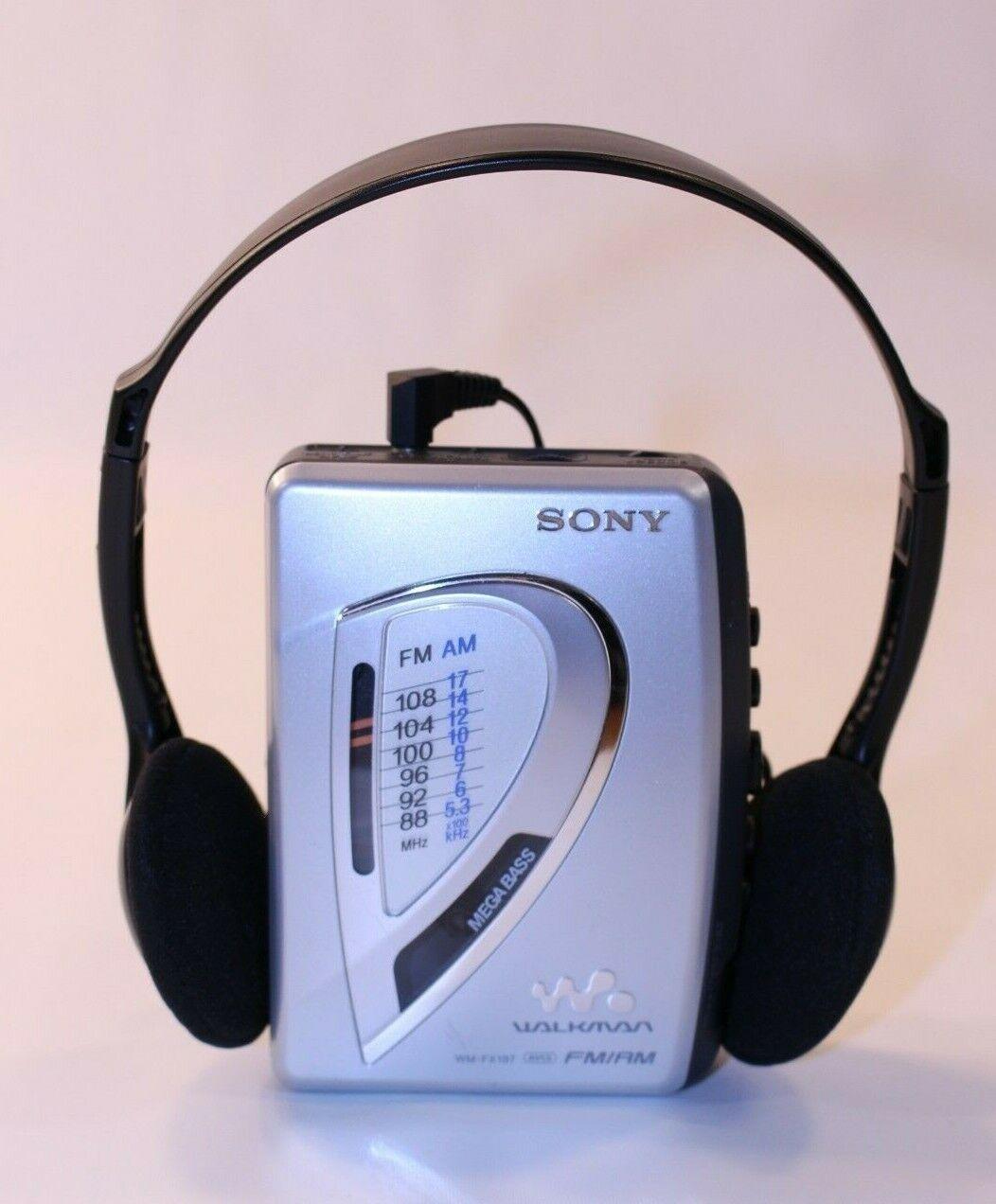 VTG Sony WMFX197 Walkman AMFM Radio Cassette Portable Working Tape Player GUC at Kapruka Online for specialGifts