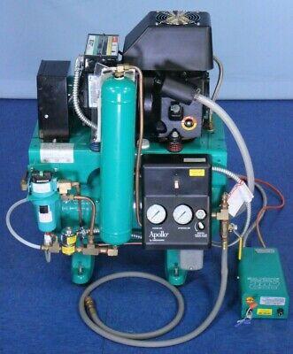 Midmark Apollo L22 Dental Air Compressor 10 Gallon Tested With Warranty
