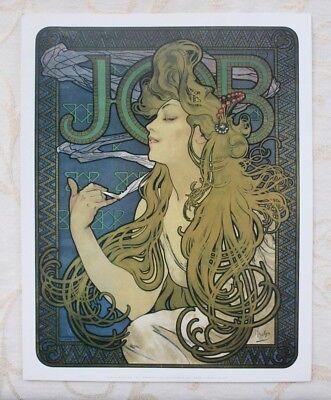 Alphonse Mucha - Job, Cigarettes (1896) - 11x14 inch Vintage Art Nouveau Poster