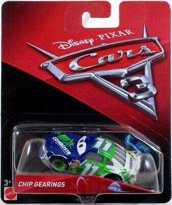 Disney/Pixar Cars 3 CHIP GEARINGS 2016 Series Diecast 1:55 Scale NEW! DXV60