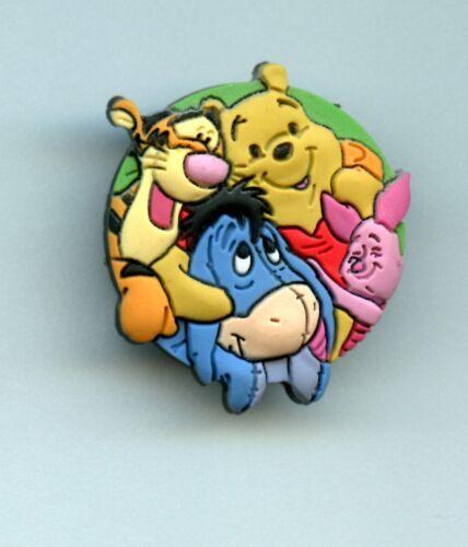 Disney Australia Friendship Day Winnie the Pooh Eeyore Tigger Piglet Free-D Pin
