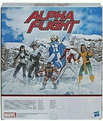 Alpha Flight - Marvel Legends - 6 Action Figure set - X-Men Dark Phoenix Saga