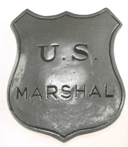 Marshal Badge,Historic Novelty ,Old West,Vintage,#12,Made in U.S.A.,