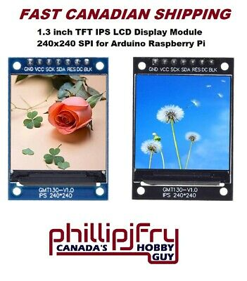 1.3 Inch Tft Ips Lcd Display Module 240x240 Spi For Arduino Raspberry Pi St7789