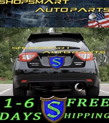 SR*S SRS TUNING CATBACK EXHAUST SYSTEMS FOR 2008 WRX STI TURBO 5 DOOR  HB WAGON