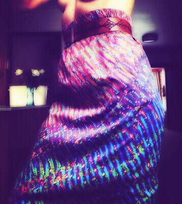 Vintage Romance Was Born Australian Maxi Pencil Skirt / Dress New Pockets Cotton