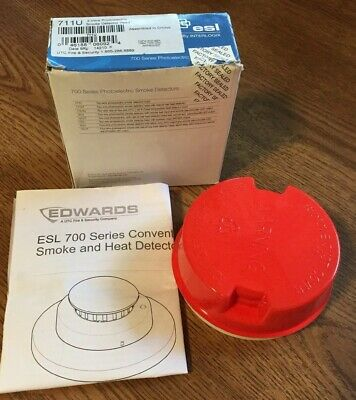 Esl 711u Photoelectric Fire Alarm Smoke Detector Head 2 Wire