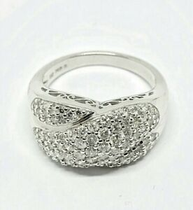 14ct White Gold Diamond Ring Revesby Bankstown Area Preview