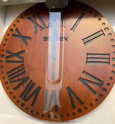 Big Ben Authentic Design Solid wood Wall Clock 11.8in -30cm