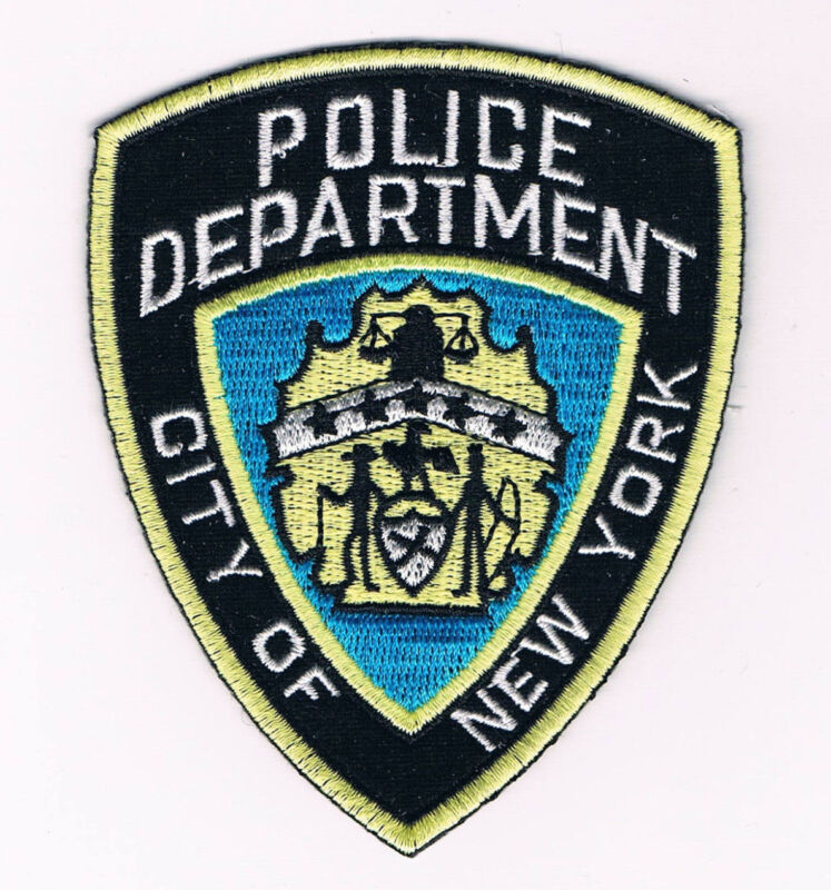 POLICE DEPARTMENT City of New York Patch replica FREE SHIPPING