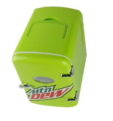 Mountain MTN DEW 6 Can Mini Beverage Center Mini Fridge 12v/120v Car Adapter