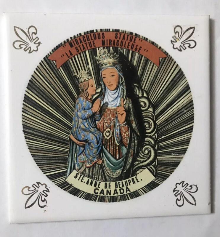 Ste. Anne De Deabeaut Trivet Ceramic Accent Wall Tile 6x6 AA