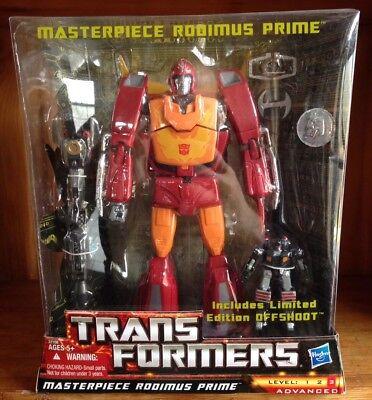 "Transformers Masterpiece Rodimus Prime & Offshoot Toys ""R"" Us TRU Ex. 100% Comp"