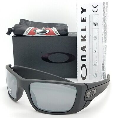NEW Oakley Fuel Cell sunglasses Cerakote Black Polarized 9096-B3 AUTHENTIC (New Oakleys)