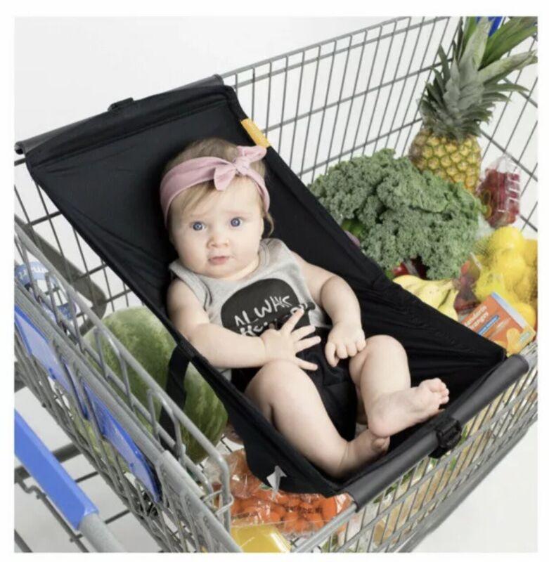 Binxy Baby Shopping Cart Hammock - Black