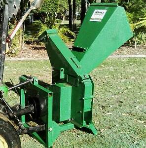 Hansa Chipper/mulcher C13 PTO Midge Point Mackay Surrounds Preview