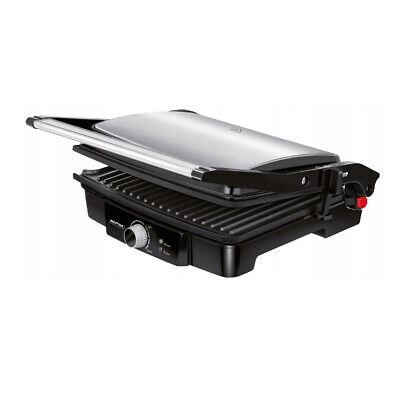 Plancha Grill Parrilla Asar Sandwichera Tostador Adaptable Altura Inox MPM MGR-