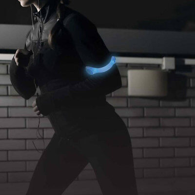 Safe Steps Night Running, Walking Gear LED Sports Armband Flashing Safety Light](Night Running Gear)