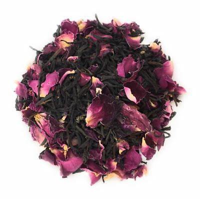 Rose Black Tea Natural Petal Fresh Blend 500 Grams Healthy Herbal Beverage Fl 2