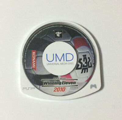 USED PSP Disc Only World Soccer Winning Eleven 2010 JAPAN PlayStation Portable