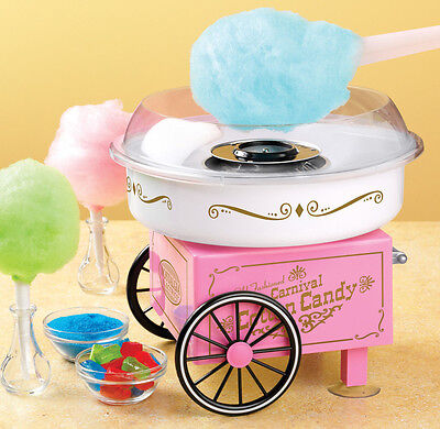 Nostalgia Pcm305 Vintage Collection Hard And Sugar-free Cotton Candy Maker New