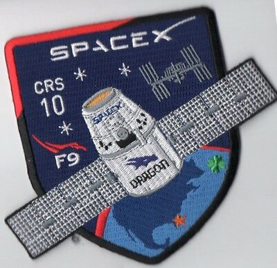 Original USAF CCAFS 45SW Launched Spacex F9 CRS-10 ISS Resupply Mission Patch