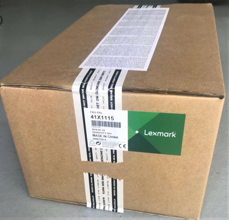 BRAND NEW SEALED GENUINE LEXMARK FUSER 41X1115 MS820 MX820 MX721 MX722 B2865