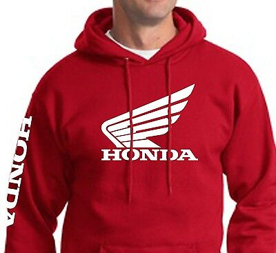 Honda Racing Sweatshirt Pullover Pull Over Hoody Hrc Cr Cbr 250 450 Motorcycle