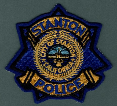 Stanton California Police Patch  *Defunct*