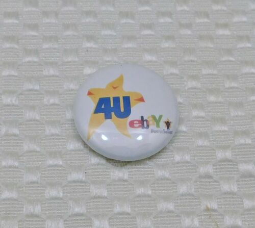 "2005 or 2006 eBay Live 4U Powerseller Button Pin 1"" Diameter"