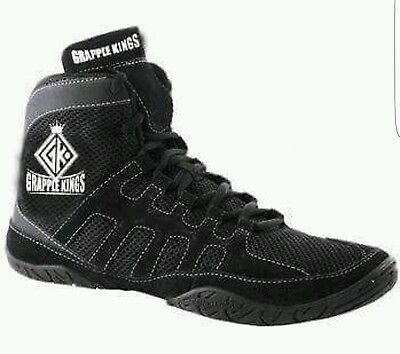 GRAPPLE KINGS MENS MMA BOXING WRESTLING  SHOES TRAINERS BOOTS  SIZE 11