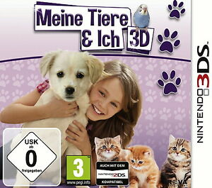 3 DS Spiel Meine Tiere & Ich 3D  gut erhalten