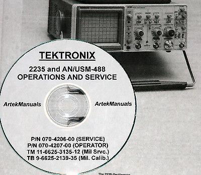 Tektronix 2235 Oscilloscope Manual Set 4 Volumes