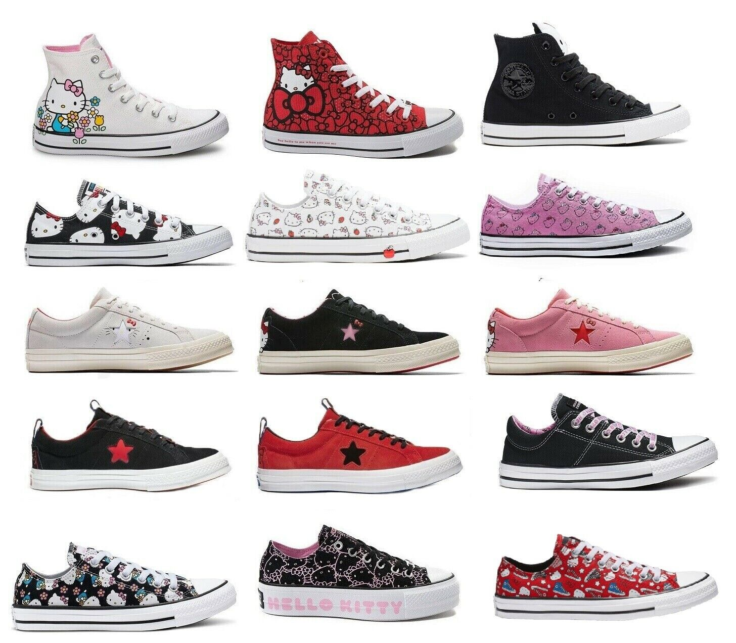 Converse X Hello Kitty One Star Suede