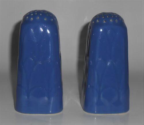Coors Pottery Coorado Blue Salt & Pepper Shaker Set
