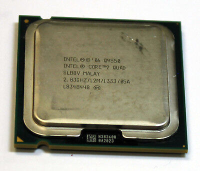 Intel Core Q9550 SLB8V 2.83 GHz 12M Cache Quad Core CPU LGA775 Processor for sale  Woodbridge