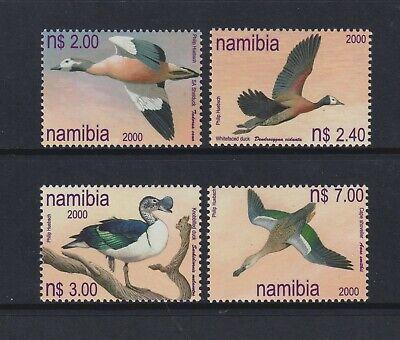 Namibia - 2000, Ducks of namibia, Birds set - MNH - SG 855/8