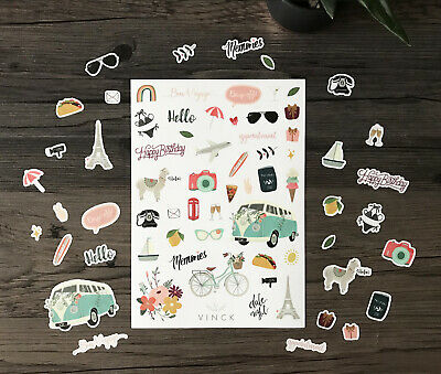 Fun Stickers (Fun Decorative Stickers Planner Scrapbooking Diary Organiser Bullet)