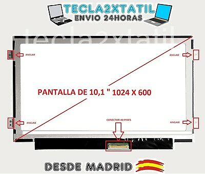 PANTALLA PARA Acer Aspire One D255 Series 10,1