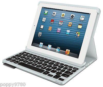 NEW Logitech Keyboard Folio Wireless Case for Ipad 2, 3 & 4 Generation - Black
