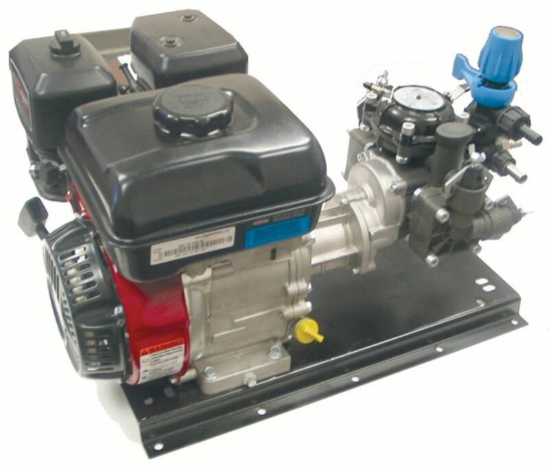 2 Diaphragm Pump Gas Powered Briggs & Straton