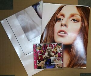 ga Artpop PA CD 2 RARE Double Sided Poster 2013