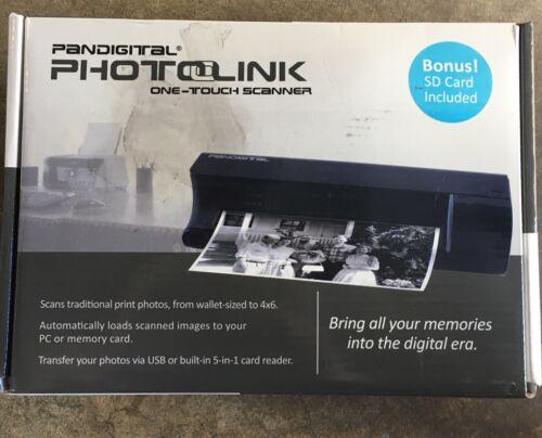 Pandigital Photolink One Touch Photo Scanner PANSCN01 - SD C